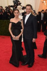 Alexi Ashe and Seth Meyers: Red Carpet Arrivals at the Met Gala 2014