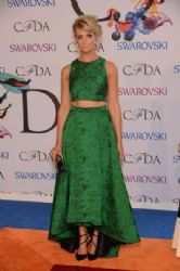 Beth Behrs wears Alice + Olivia - 2014 CFDA Fashion Awards