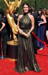 Bellamy Youg wears Naeem Khan - Creative Arts Emmy Awards 2014