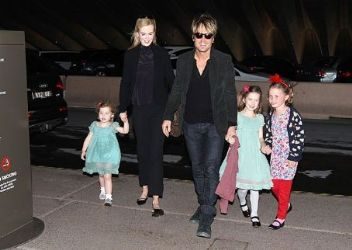 Nicole Kidman and Keith Urban: to the Opera with the kids