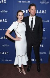 Emily Blunt and John Krasinski  : 'The Hollars' New York Screening