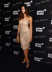 Madalina Ghenea wears Alberta Ferretti - Montblanc Celebrates 90 years of Meisterstuck