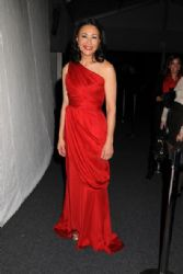 Ann Curry at the Heart Truth's Red Dress Fall 2011 Fashion Show at the Lincoln Centre in NYC