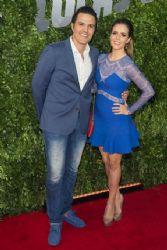 Claudia Álvarez and Billy Rovzar: movie premiere