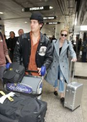 Lili Reinhart And Cole Sprouse at LAX