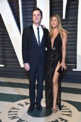 Justin Theroux and Jennifer Aniston: 2017 Vanity Fair Oscar Party Hosted By Graydon Carter - Arrivals