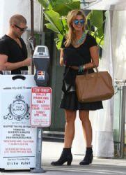 Delta Goodrem: at Villa Blanca in Beverly Hills