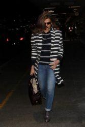 Eva Mendes: at LAX