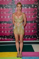 Britney Spears attends the 2015 MTV Video Music Awards at Microsoft Theater
