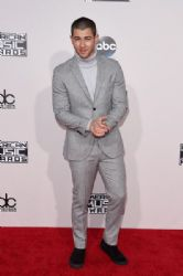 Nick Jonas: 2015 American Music Awards - Red Carpet
