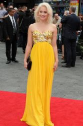 Kimberly Wyatt wears Rachel Gilbert - The Wolverine UK premiere