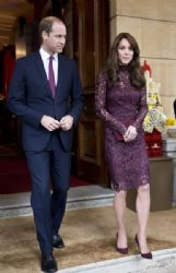Catherine, Duchess of Cambridge, Prince William Windsor. at Britain Creative Event at Lancaster House