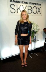 AnnaSophia Robb: Leather Lady During NYFW