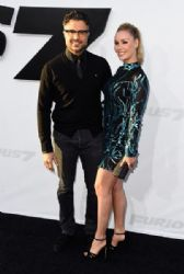 Jaime Camil and Heidi Balvanera: 'Furious 7' World Premiere