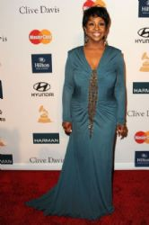 Gladys Knight arrives at Clive Davis and the Recording Academy's 2012 Pre-GRAMMY Gala