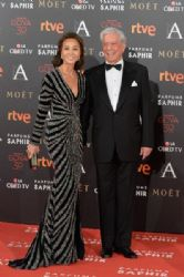 Isabel Preysler and Mario Vargas Llosa: Goya Cinema Awards 2016 - Red Carpet