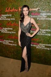 Tao Okamoto wears Salvatore Ferragamo - Wallis Annenberg Center For The Performing Arts Inaugural Gala