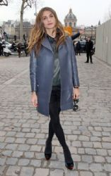 Elisa Sednaoui at the Louis Vuitton Autumn/Winter 2012/2013 Show
