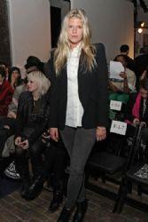 Alexandra Richards at the Jen Kao Fall 2012 Fashion Show