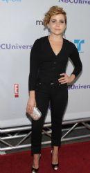 Mae Whitman: Arrives at the NBC Universal TCA 2011