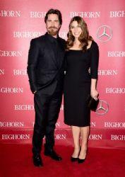 Christian Bale and Sibi Blazic: 27th Annual Palm Springs International Film Festival Awards Gala