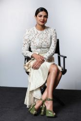 Priyanka Chopra In Zimmermann – Build LDN Baywatch London Evet