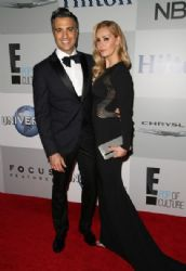 Jaime Camil and Heidi Balvanera: InStyle And Warner Bros. Golden Globes 2015 Party