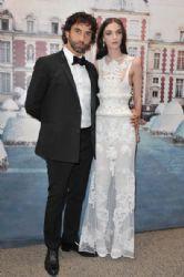 Riccardo Tisci and Mariacarla Boscono