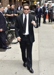 Mark Wahlberg Stops by the Letterman Show
