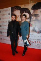 Beren Saat & Kenan Dogulu attend the
