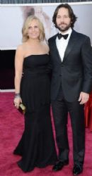 Paul Rudd and Julie Yaeger: 85th Annual Academy Awards