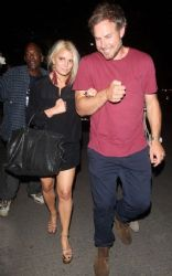 Jessica Simpson With Eric Johnson: Spotted at the Adele concert in Los Angeles