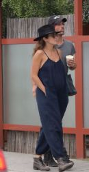 Nikki Reed: steps out for lunch at Gjelina in Venice