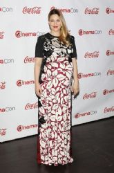 Drew Barrymore wears Marc Jacobs - Cinemacon Big Screen Achievement Awards