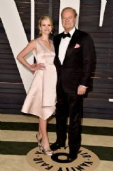 Kelsey Grammer and Kayte Grammer: Elton John AIDS Foundation Oscars 2015 Viewing Party