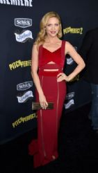 Brittany Snow arrives at the premiere of Universal Pictures'