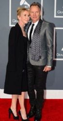 Sting and Trudie Styler: The 55th Annual GRAMMY Awards