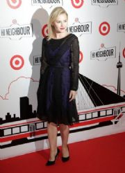 Elisha Cuthbert: attended the launch of Target in Toronto