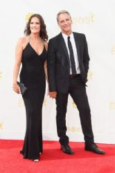 Chelsea Field and Scott Bakula : Arrivals at the 66th Annual Primetime Emmy Awards