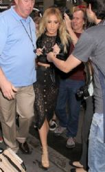 Ashley Tisdale: visit NBC Studios for an appearance on the