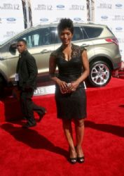 Angela Bassett arrives at the 2012 BET Awards at The Shrine Auditorium on July 1, 2012 in Los Angeles