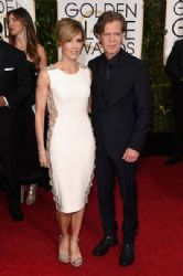 Felicity Huffman and William H. Macy: 72nd Annual Golden Globe Awards 2015- Arrivals