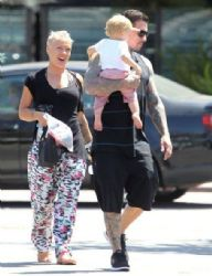 Pink's Family Lunch With Carey & Willow