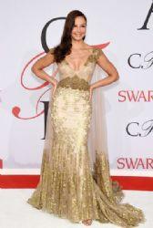Ashley Judd wears Badgley Mischka - The 2015 CFDA Awards