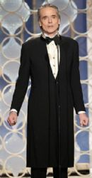 Jeremy Irons: arrives at the 70th Annual Golden Globe Awards held at The Beverly Hilton Hotel