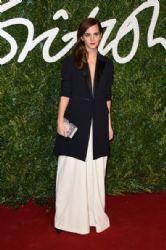Emma Watson wears Misha Nonoo - 2014 British Fashion Awards