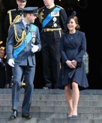 Catherine, Duchess of Cambridge and Prince William, Duke of Cambridge :  Service of Commemoration