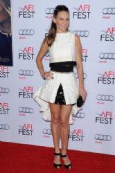 Hilary Swank wears Giambattista Valli - 'The Homesman' AFI Fest 2014 Premiere