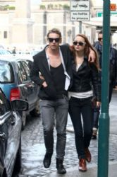 Jamie Campbell Bower and girlfriend Zoe Graham