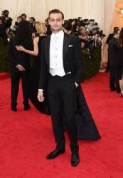 Douglas Booth: Red Carpet Arrivals at the Met Gala 2014